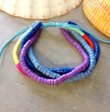Colorful Coconut Bracelets & Anklets