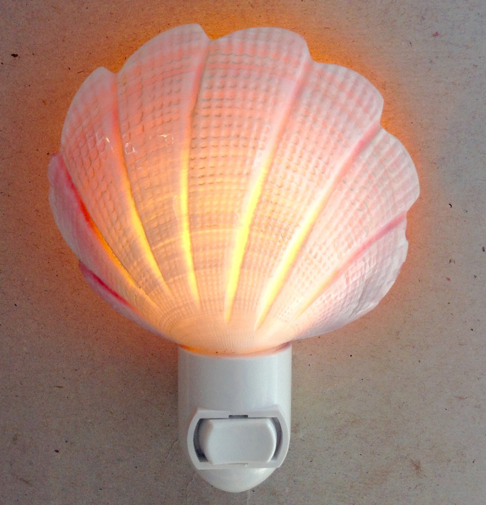 Pink Clam Nightlight
