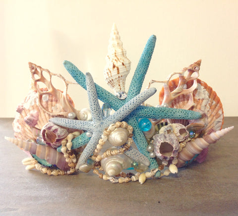 Mermaid Seashell Crown