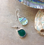 Sea Level Abalone Earrings