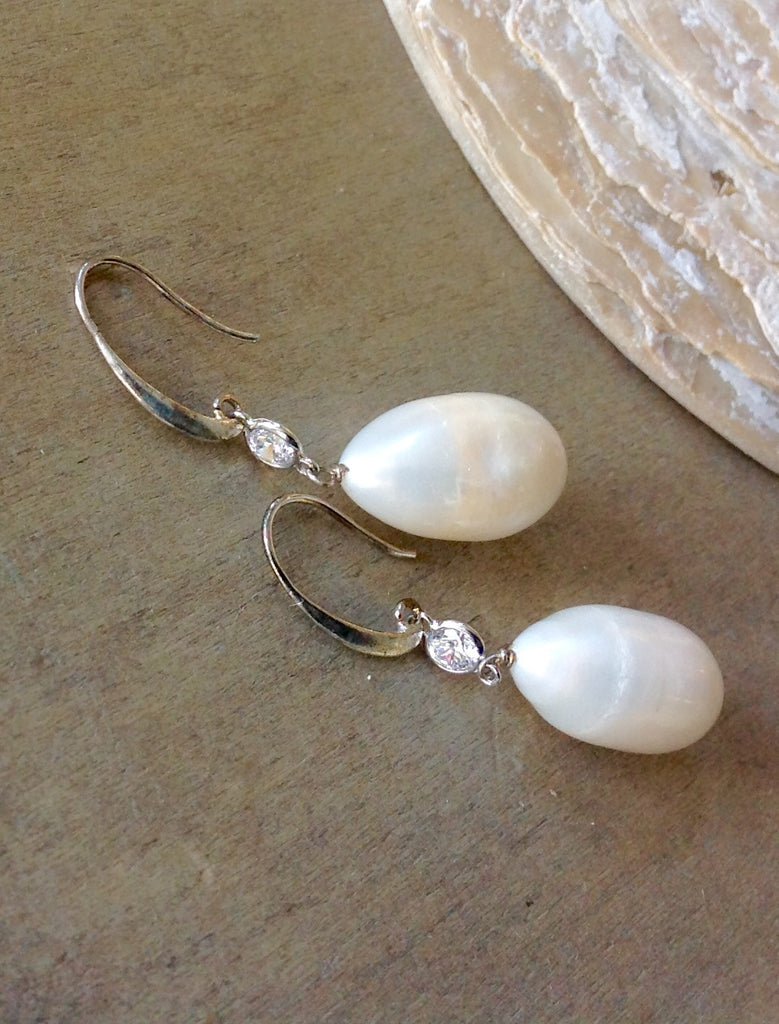 Swarovski Pearl Drop Earrings