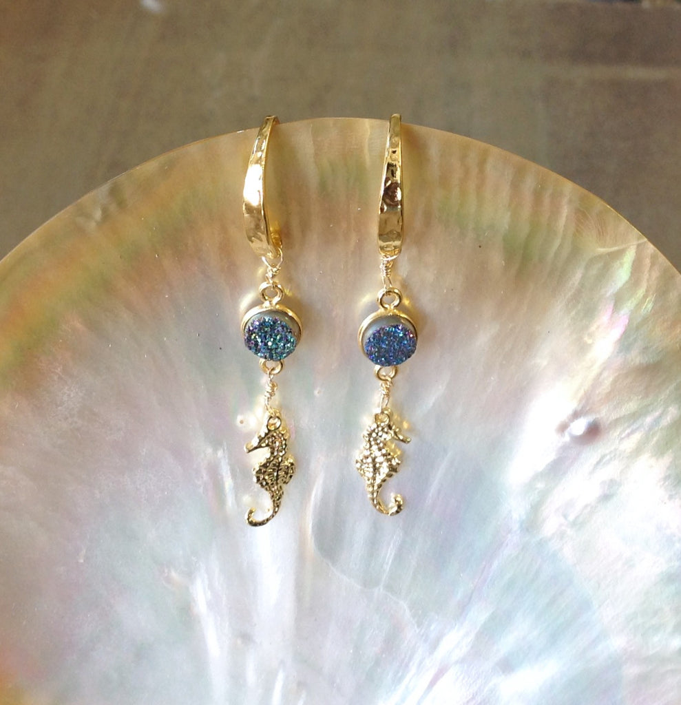 Seahorse Treasure Earrings