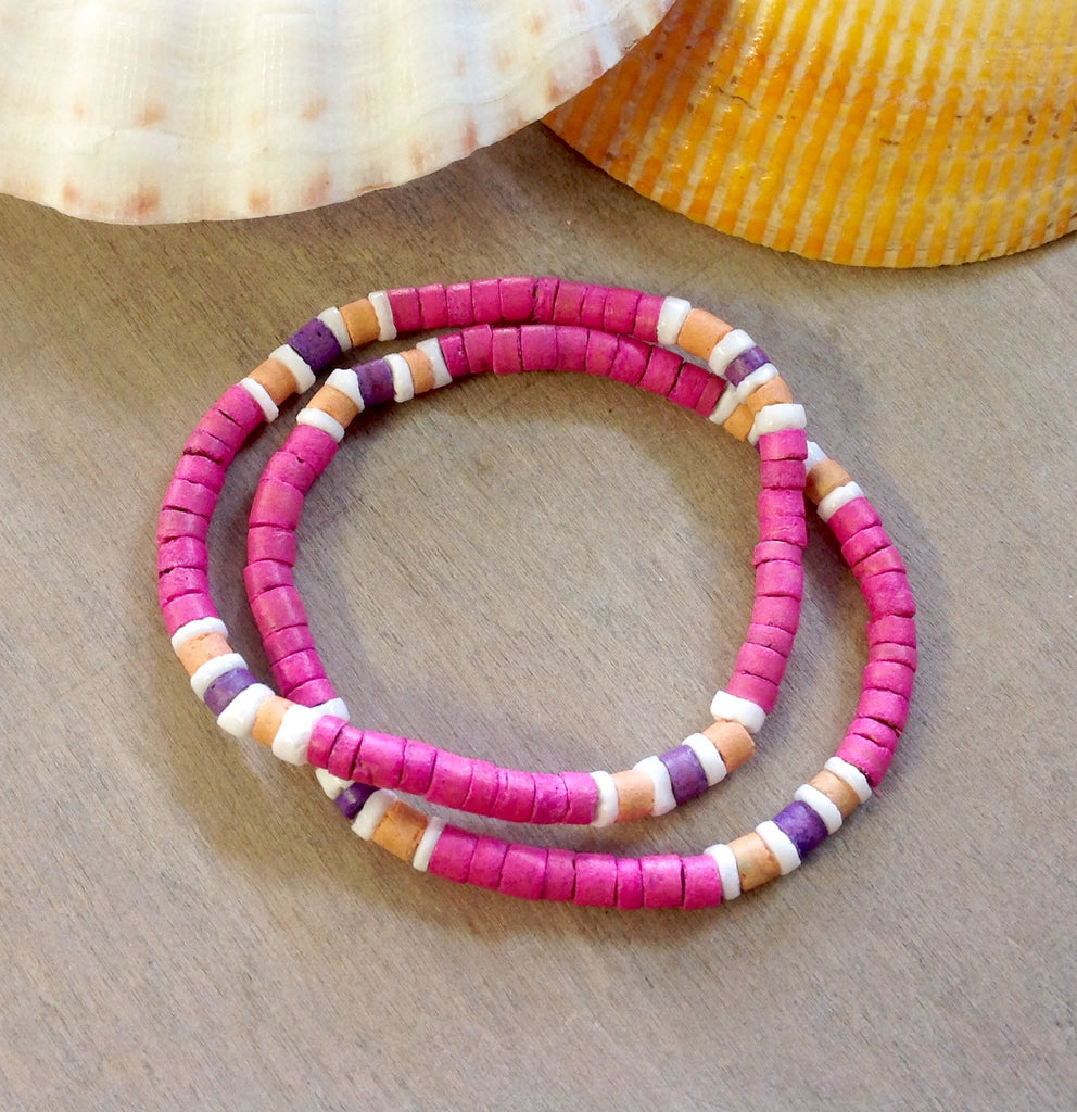 Coconut Stretch Bracelets