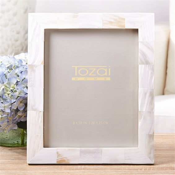 Mother-of-Pearl Photo Frame