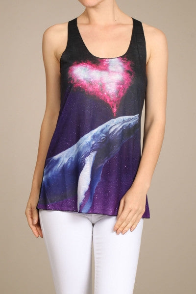 Whale of Love Tank