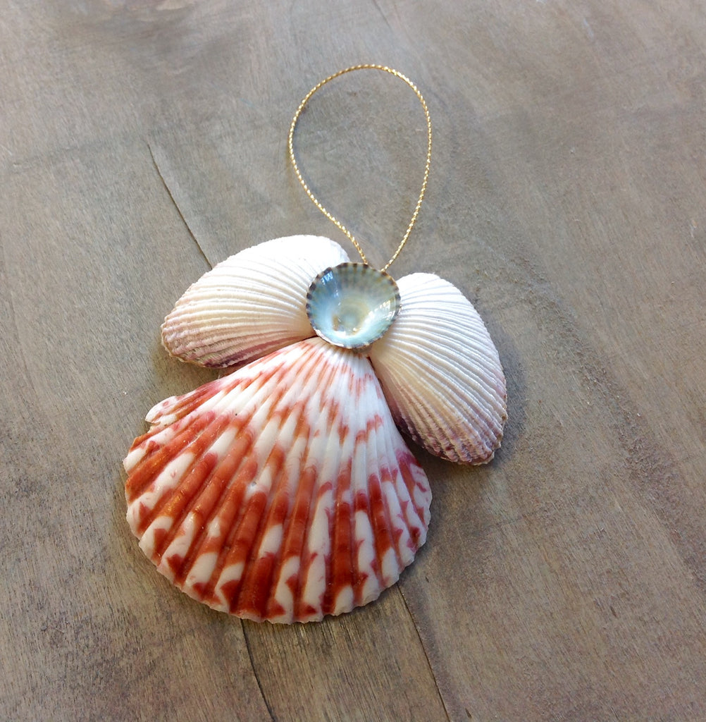 Limpet Angel Ornament