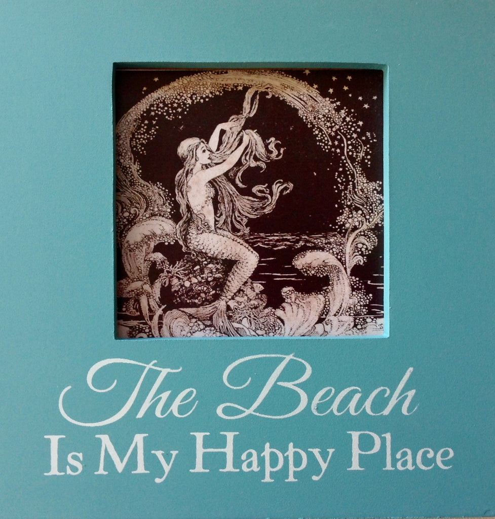 Mermaid Sentiments Box Sign