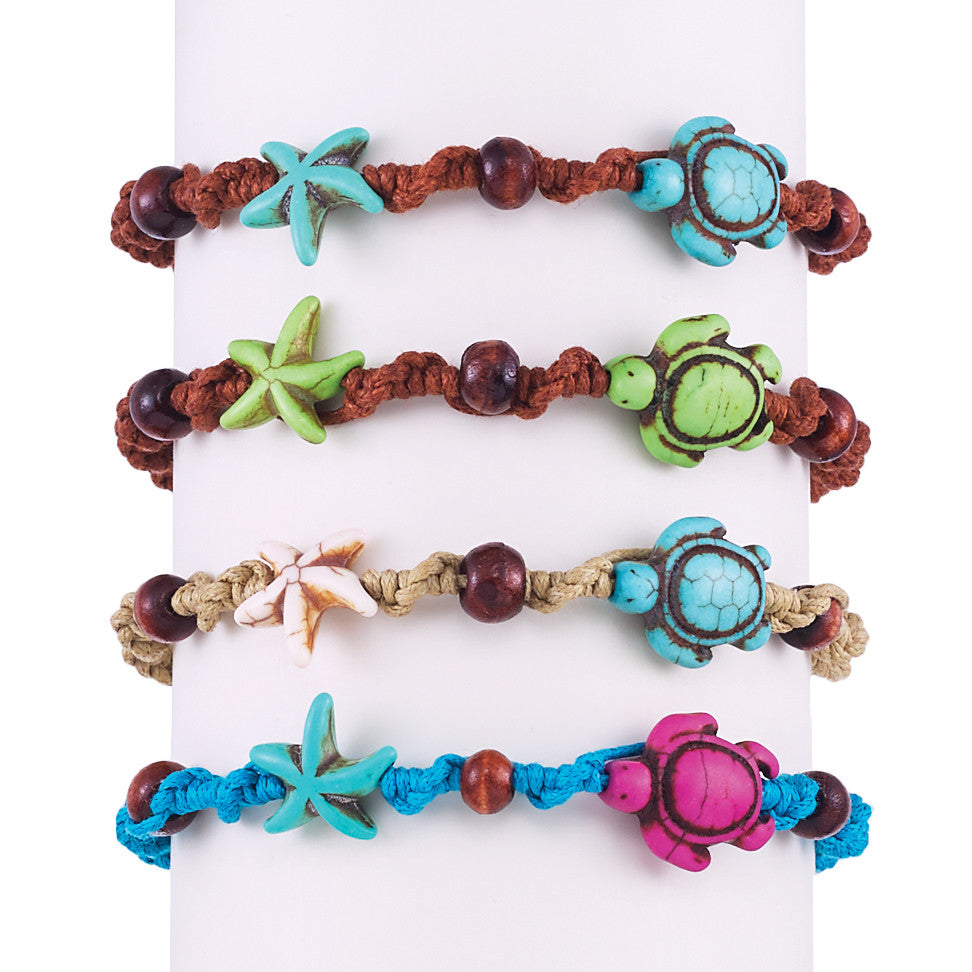 Turtle Starfish Bracelet