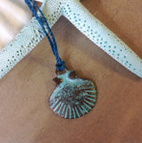 Patina Shell Necklace