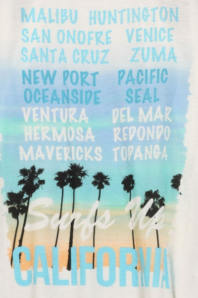 CA Beaches Tank Top