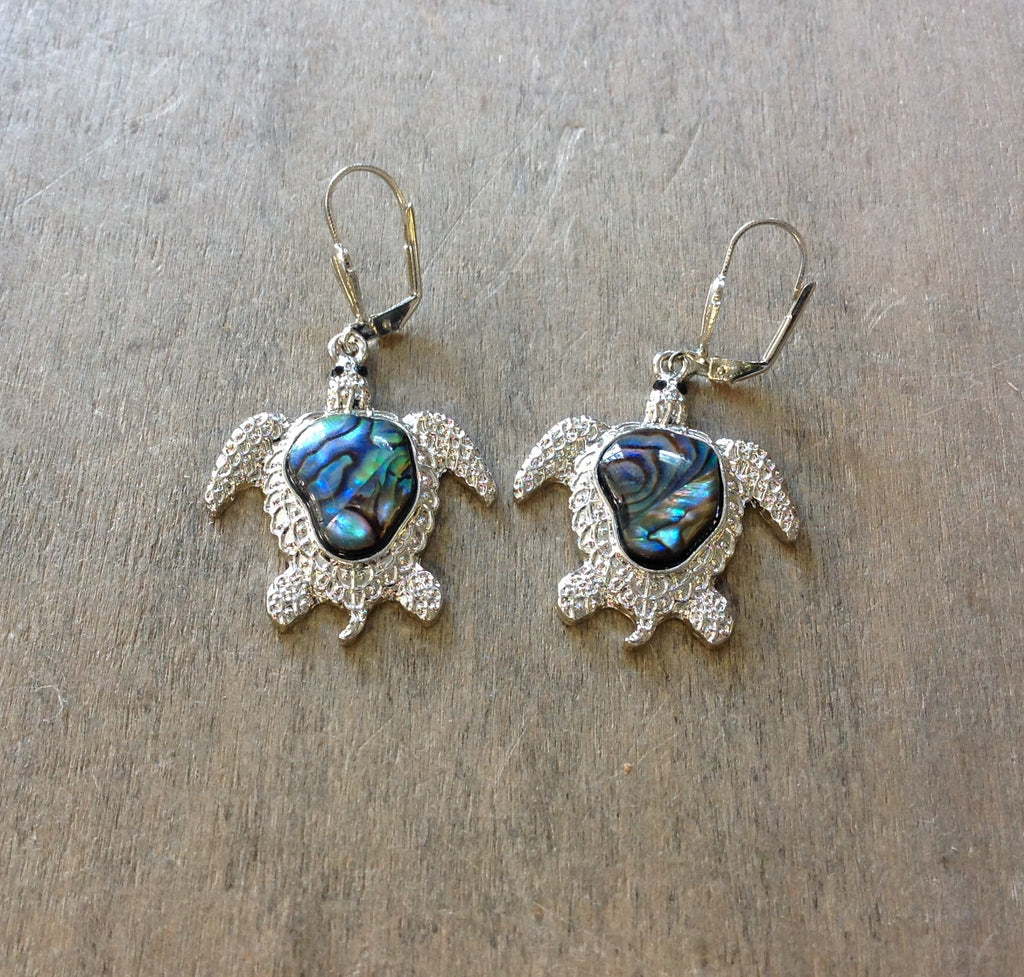 Abalone Sea Life Earrings