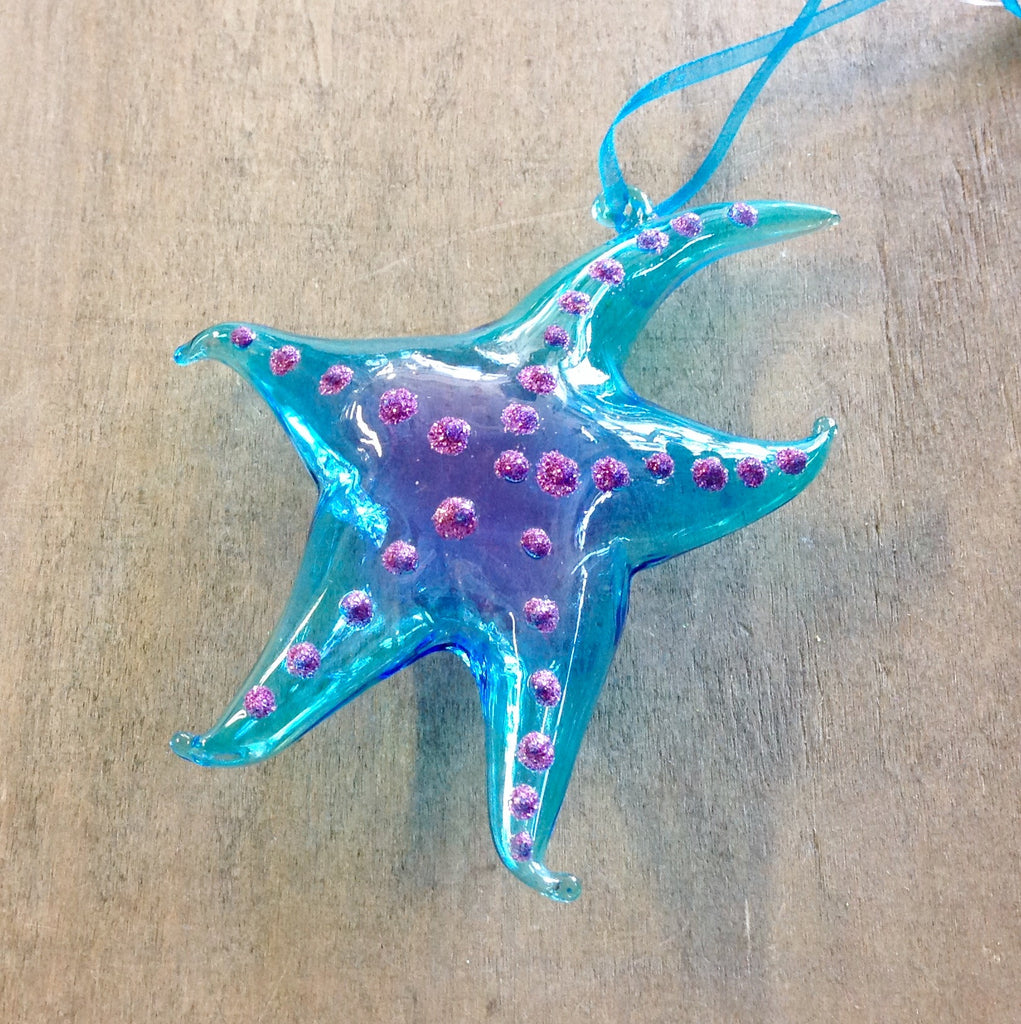 Sea Life Glass Ornaments