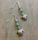 Turtle Dangle Earrings