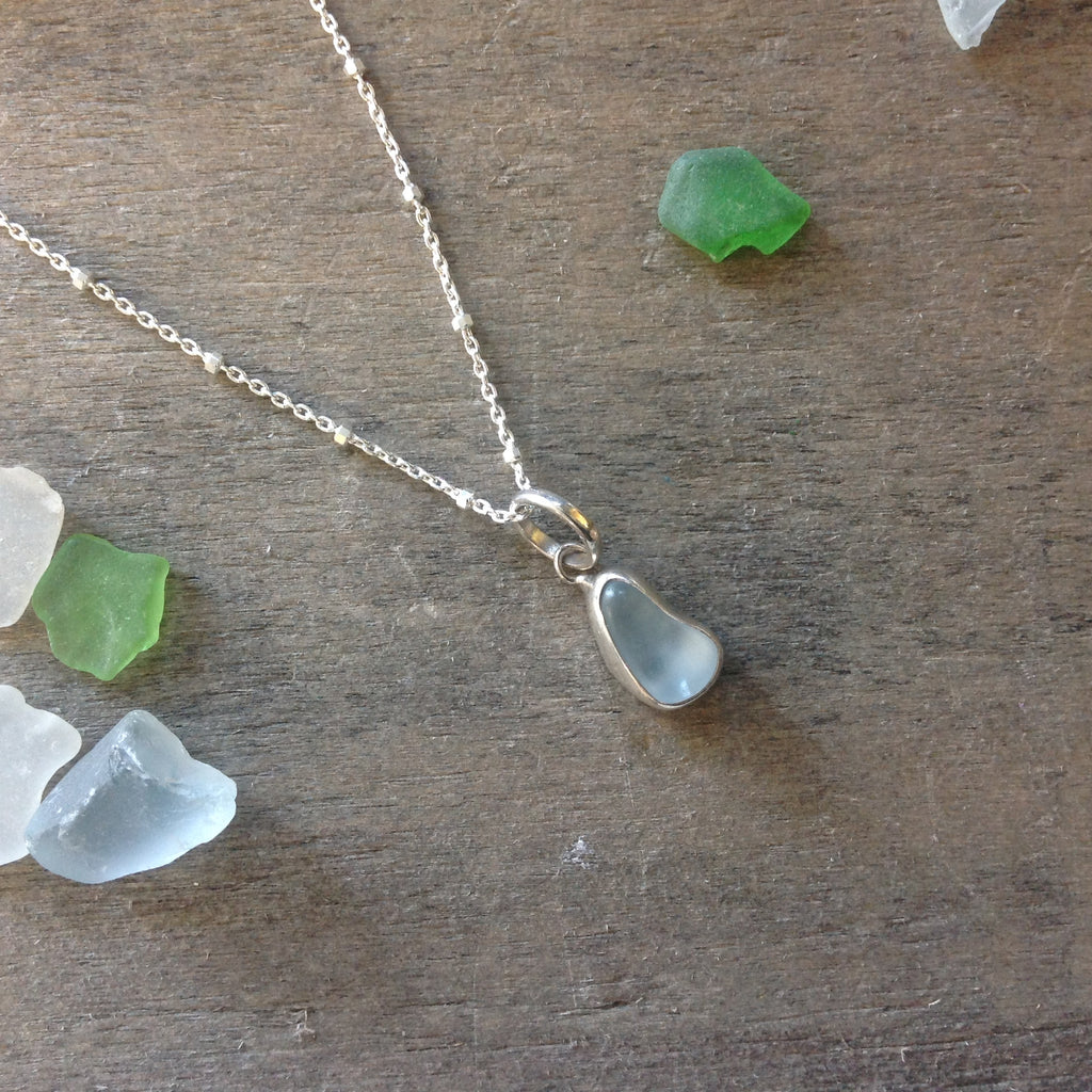 Precious little Sea Glass Necklace