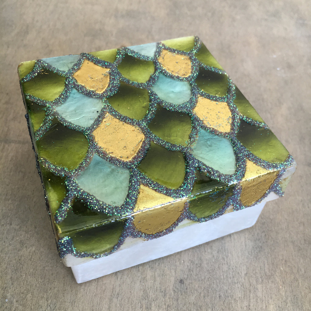 Mermaid Scales Treasure Box