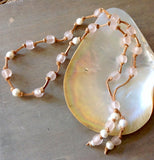 Ocean Sand Pearls Necklace