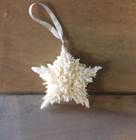 Coral Star Ornament
