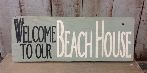 Beach House Signs