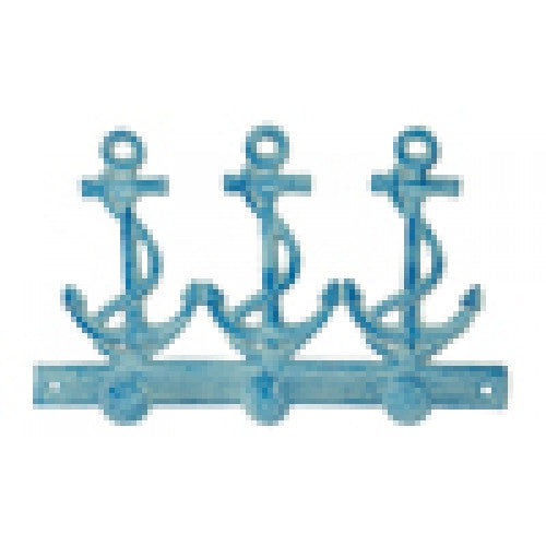 Triple Blue Anchor Hook