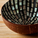 Mother-of-Pearl Coconut Bowl