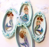 Glass Mermaid Ornament