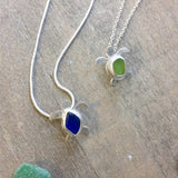 Precious Turtle Seaglass Necklace