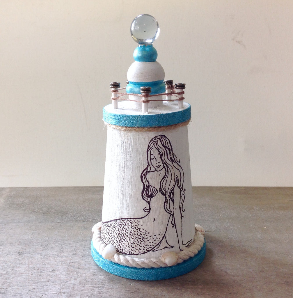 Mermaid Art Lighthouse