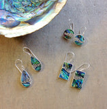Abalone Wave Earrings