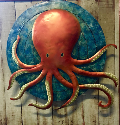 Giant Octopus Wall Art
