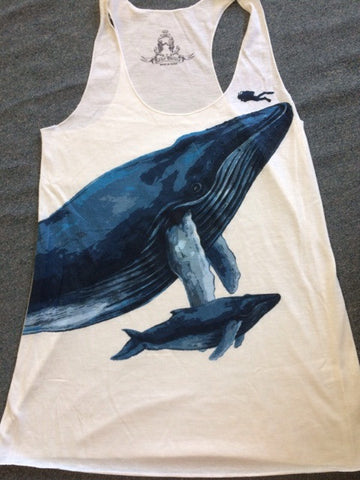 Mother & Baby Whale Tank