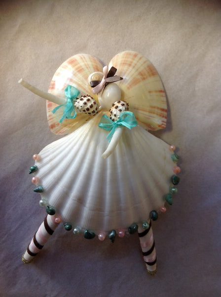 Angel Seashell Ballerina Sea Things Ventura