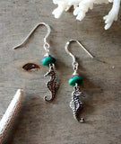 Seahorse Love Earrings