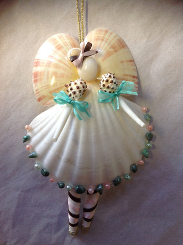 Angel Seashell Ballerina