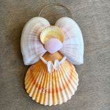 Rainbow Butterfly Shell Angel