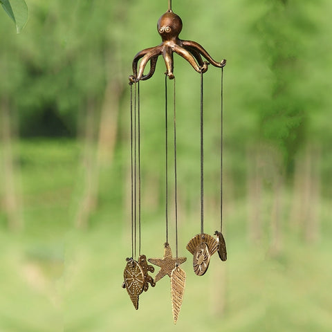 Octopus & Seashell Windchime