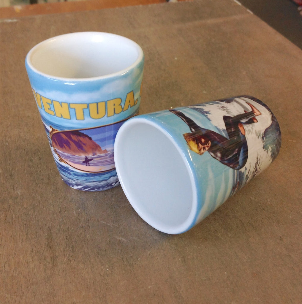 Ventura Surfer Shot Glass