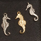The Dainty Seahorse(Small) and Thick Seahorse(Mini) are both double sided