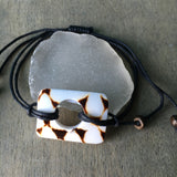Geometric Summer Shell Bracelets