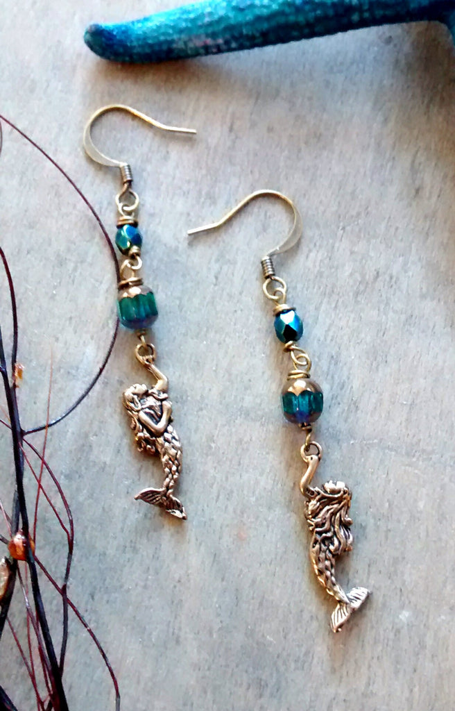 Mermaid Love Earrings