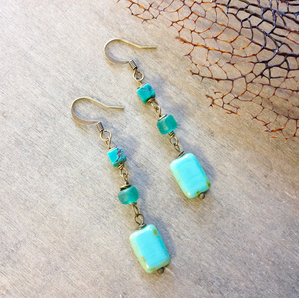 Ocean Jewel Earrings
