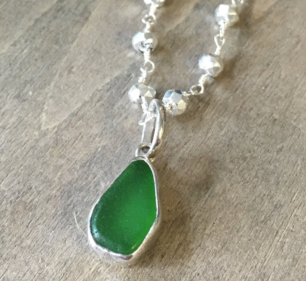 Precious Sea Glass Necklace