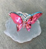 Butterfly Shell Rings