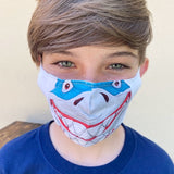 Ocean Characters Child Face Mask