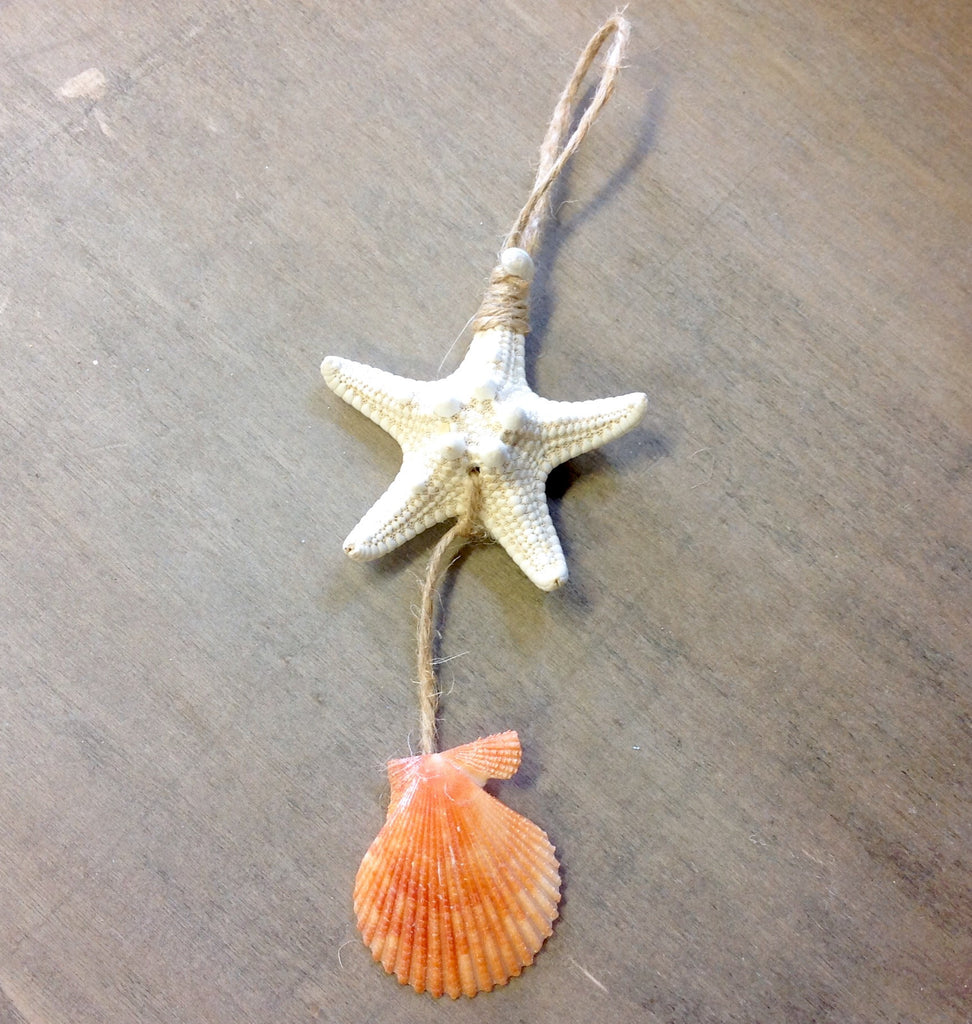 Natural Starfish Ornament