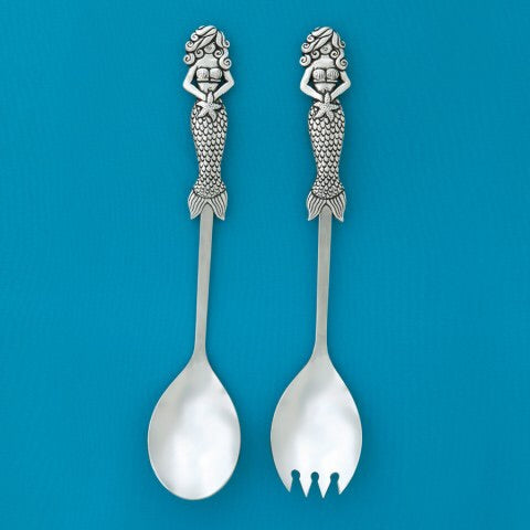 Mermaid Salad Server Set
