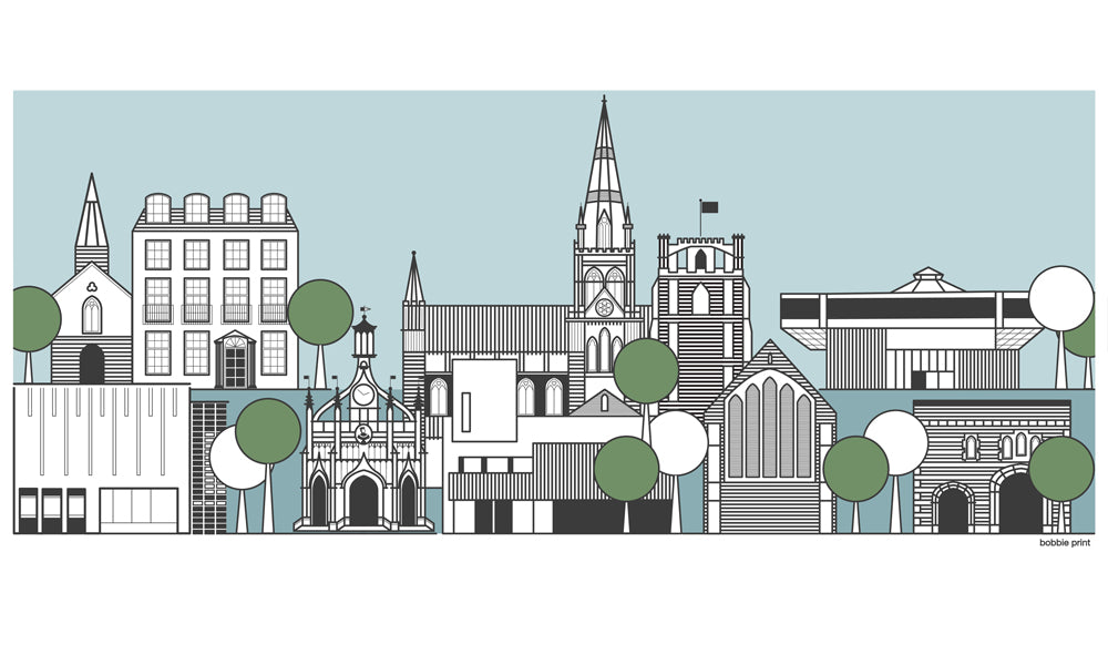 Bobbie Print Entry to the Design Collective Chichester open Brief