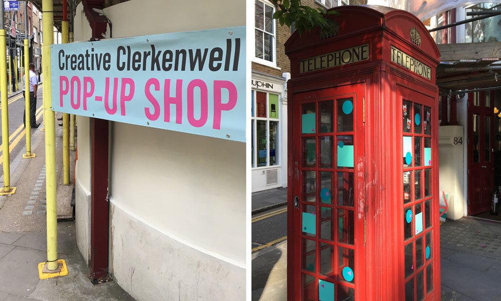 Pop-Up Shop with The Creative Edit and Bobbie Print Clerkenwell Design Week 2018