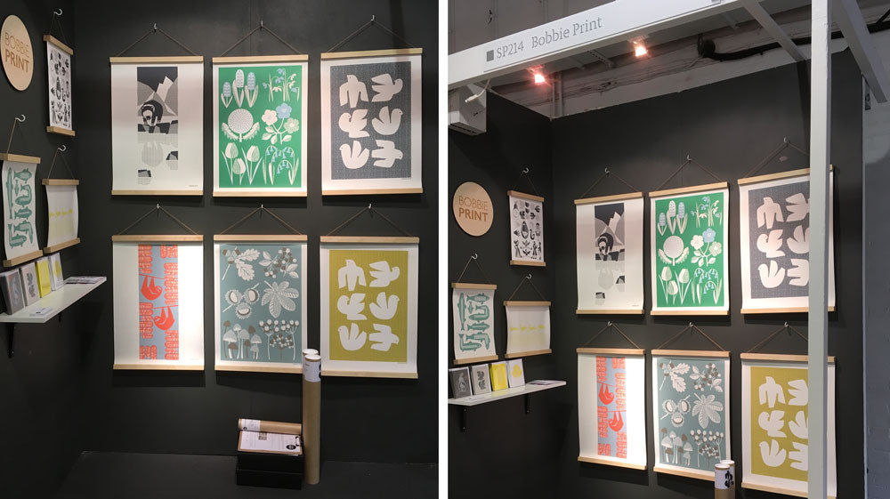 Bobbie Print Trade Show Stand at Top Drawer Olympia