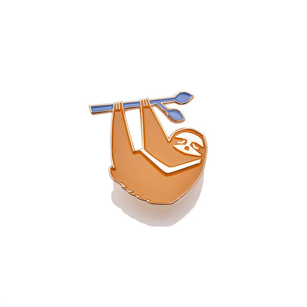 Summer Sloth Pin
