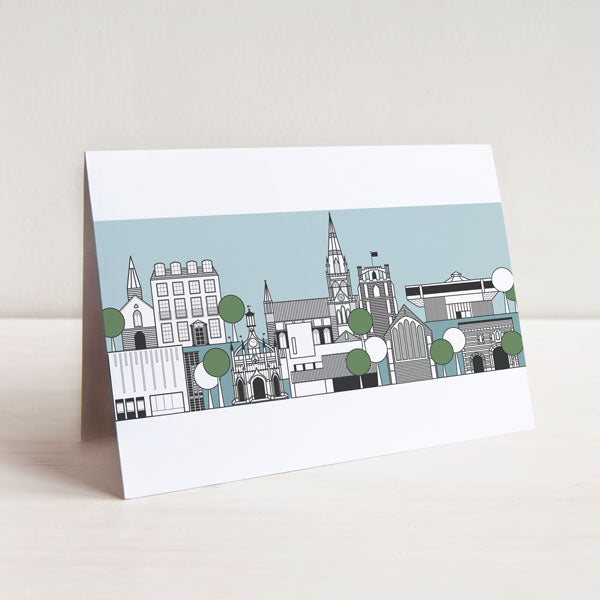 Chichester Cityscape Card
